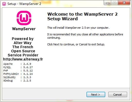 wampserver 64位(php环境搭建安装包)