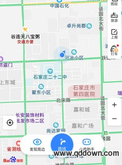 百度地图怎么共享位置,百度地图分享位置方法