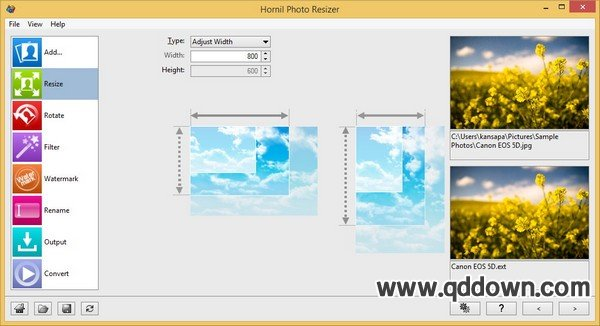Hornil Photo Resizer